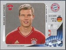 PANINI UEFA CHAMPIONS LEAGUE 2012-13- #376-BAYERN MUNICH-HOLGER BADSTUBER