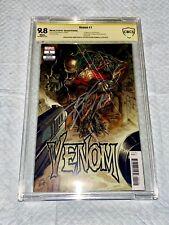 Venom #1 1st Appearance Rex & Grendel CBCS 9.8SS DONNY CATES & RYAN STEGMAN 🗝🔥