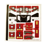 LEGO Super Heroes 76104 The Hulkbuster Smash-up STICKER SHEET