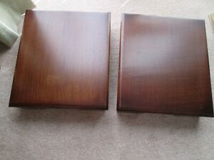 Solid Wood Bespoke Speaker Stands (35w x 30d x 9h cms)
