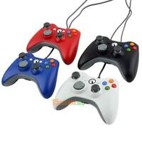 Wired USB Game Pad Joypad Controller For MICROSOFT Xbox 360 Slim & PC xmas gift