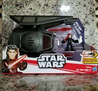 Playskool Star Wars Galactic Heroes Kylo Ren  w// Hood Force Awakens Last Jedi