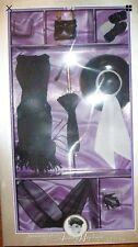 1998 Audrey Hepburn Barbie Fashion, Black Daytime Ensemble-Breakfast at Tiffanys