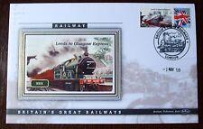 2009 Ltd Ed Benham Error Cover - NER  Leeds to Glasgow Express