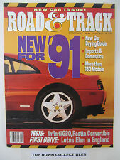 Road and Track Magazine  October 1990  Salon: BMW 328 Touring Coupe