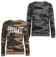 Everlast Herren Sweatshirt S M L XL 2XL Pullover Sweat Sweater Pulli Camouflage