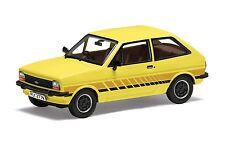 VA12509 Corgi Vanguards Limited Edition Ford Fiesta Mk1 Yellow 1:43 Diecast Car