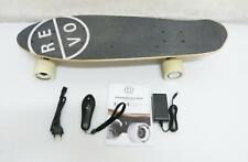 REVOE  EVO Elektro Skateboard Komplettboard E Board Schwarz B12