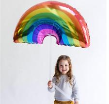 Rainbow Helium Foil Balloon Baby Shower Kids Birthday Party Home Decor AU