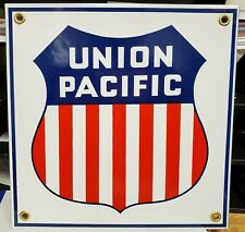 Railway Signs - Union Pacific A Must Have . Blue  Red  White Made in the U.S.A.