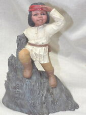 All God's Children Little Chief Indian Figurine Martha Holcombe 1987 #70 Mint