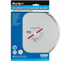Blue Spot 300MM Diamond Segmented Blade For Stihl Saw Cutting Stone Brick Block