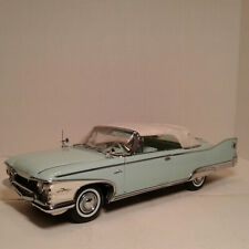 1960 PLYMOUTH FURY CLOSED CONVERTIBLE 1/18  SUN STAR  PLATINUM COLLECTION BLUE