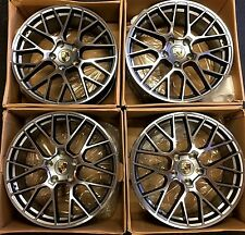 20 PORSCHE CAYENNE GTS S HYBRID NEW WHEELS RIMS 2011-2017 20x9 SET OF 4