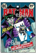 BATMAN #251 COVER PRINT Joker Neal Adams art