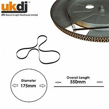 Electrovision Black 175mm Turntable Drive Belt F399ZU