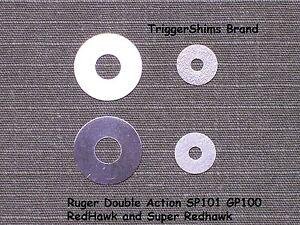 TRIGGER & HAMMER 8 PAK SHIM KIT fits Ruger SP101 GP100 REDHAWK Revolver RDA-8PAK