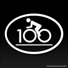 Cycling Century Cycling Bike Riding Vinyl Decal Bumper Car