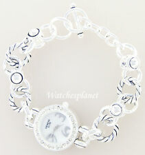 NEW LADIES FASHION SIMULATED DIAMOND UNIQUE CHAIN WATCH
