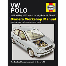HAYNES VW POLO 2002 TO MAY 2005 51 TO 05 REG PEROL AND DIESEL WORKSHOP MANUAL