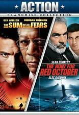 The Hunt for Red October/The Sum of All Fears (DVD, 2011, 2-Disc Set) New/Sealed