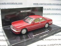 BENTLEY CONTINENTAL  R  1996  RED METALLIC   MINICHAMPS   1/43