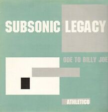 Subsonique Legacy – Ode To Billy Joe Label : 199 Athletico – ATH008 Breakbeat