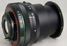 Pentax HD 18-50 mm/4-5,6 DC WR re obiettivo per Pentax Digitale SLR come nuovo