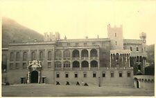 PHOTO 021015 - 1937 - MONACO Palais du Prince -