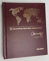 Rand McNally World Atlas Signature Edition Hardcover by Andrew McNealy IV Mint
