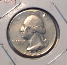 1939 25C Washington Quarter
