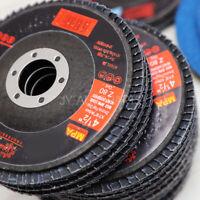 "40 GRIT 50 PACK PREMIUM ZIRCONIA FLAP DISC SANDING GRINDING 4-1/2"" X 7/8"""