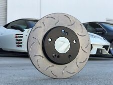 [88ROTORS] Front Pair Premium Slotted Only CSR Brake Rotors NEW STYLE! IS350