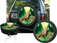 Fox Summer Wild Hunt Animal Car Truck Jeep Spare Tyre Cover