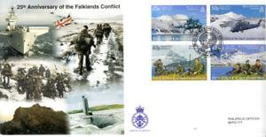 BFPO 2007 25th Anni Falkland Islands Conflict cover South Georgia postmark