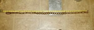 Vintage 43 Inch Mixed Hook-Up Chain W/Snap Connector Horse, Mule, Ox ??