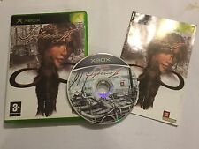 Original XBOX Jeu B. SOKAL SYBERIA II/2 + box & INSTRUCTIONS/Complet