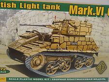 Britischer Panzer Mark VI. C    - ACE  Bausatz 1:72 - 72292   #E