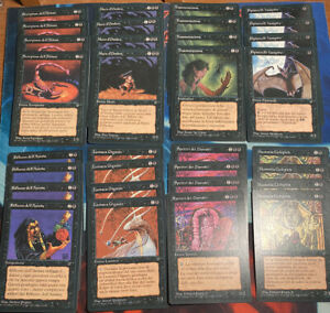 MTG 32x ITALIAN LEGENDS (NM & SP) 4x Wall of Shadows ++ magic the gathering PGEA