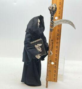 Dollhouse miniature 1/12th scale porcelain Grim Reaper by Jan Smith