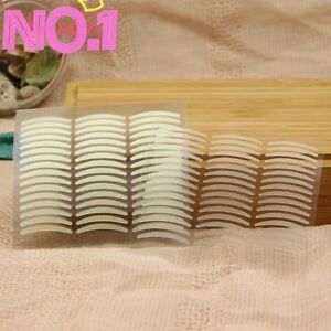 288 Pcs Invisible Thin/wide double Eyelid Clear Adhesive Sticker Tape Big eye UK