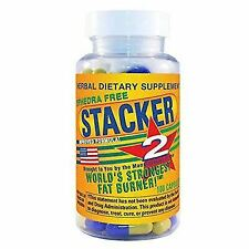 Stacker 2 Ephedra 100ct Bottle Weight Loss & Energy Supplement Exp 12/2019