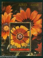 Ajman Block 468 A + B , o , Motiv Blumen