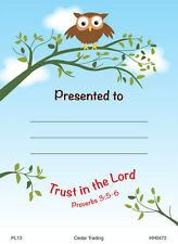 20 Children's Presentation Labels With Bible Text - 4 Designs, 5 of each EB232