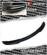 Carbon Fiber Under Front Bumper Lip Spoiler for 2005-2008 BMW E90 Pre-LCI Sedan
