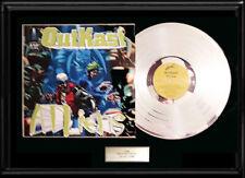 OUTKAST ATLIENS RARE FRAMED LP SILVER PLATINUM TONE VINYL RECORD NON RIAA AWARD