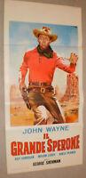 klein,Filmplakat,PLAKAT,IL GRANDE SPERONE, JOHN WAYNE-43