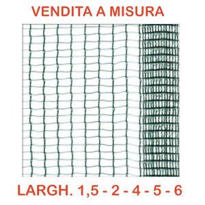 Telo rete raccolta olive e antigrandine protezione uccelli 35gr VENDITA A MISURA