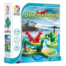 SMART GAMES 282 - 3D Klassiker - Dinosaurier, Geheimnisvolle Inseln