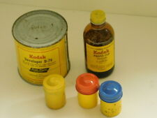 KODAK mixed lot : Developer ~ Photo Flo Solution ~ 3 Film Tins